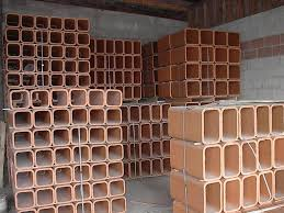 clay flue liners in assorted sizes