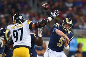 Rams 2017 Depth Chart Pittsburgh Steelers Vs The Los Angeles Rams A History Of