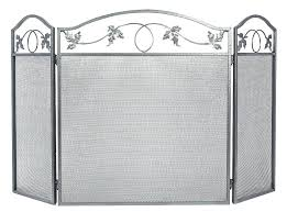 large fireplace screens s rustic large fireplace screens