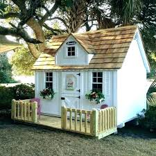 wooden playhouse instructions kits outdoor playhouses luxury how to build a child play hou children plans