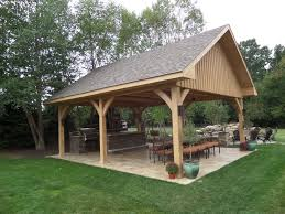 outdoor structures gazebos pavilions and pergolas allgreen inc for shade for basketball courts