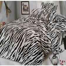 zebra print bedding set 6 x 7ft