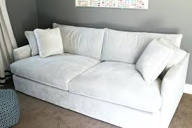 Most Comfortable Sectional Sofa Oversized Deep Couch Pottery Barn