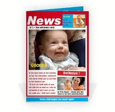 Birth Announcement In Newspaper News Paper Birth Announcement Barca Fontanacountryinn Com
