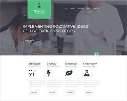 Free Html Website Templates Mesmerizing 48 Laboratory Website Templates Themes Free Premium Free