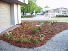 Easy Inepensive Landscaping Ideas For Front Yard Inspiring Pertaining To  Rock And Mulch Landscape Beautiful Designs