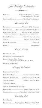 Wedding Ceremony Templates Free Sample Church Wedding Ceremony Program Ericremboldt Com