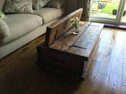 rustic solid wood coffee table rustic solid wood coffee table chunky rustic coffee table chest solid