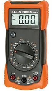 image is loading klein tools mm300 manual ranging multimeter replacement for