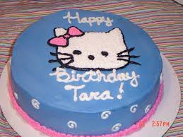 Simple Hello Kitty Cake Cakecentralcom