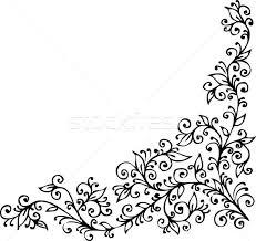 Vignette Design Floral Vignette Cdxxiv Vector Illustration Glasaigh