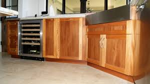 Palatial Unfinished Mahogany Cabinets As Kitchen Storage Cabinet Also White Porcelain Countertop In Traditional Tips
