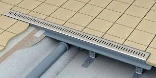 shower drain installation schluter linear schluter