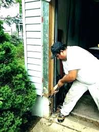 repairing rotted wood how to repair fix deck ting post under siding wooden windows window frames