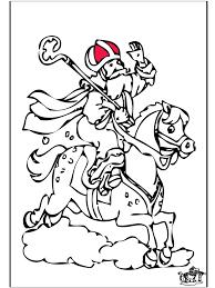 Sinterklaas 58 Kleurplaten Sint