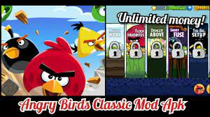 ANGRY BIRDS CLASSIC HACK MOD APK [Unlimited Money]