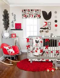 Ohio State Bedroom Decor Small Infant Bedrooms With Wall Decorations And Grey Crib And