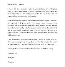 sample character reference letter for court 6 documents in pdf intended for child custody letter template
