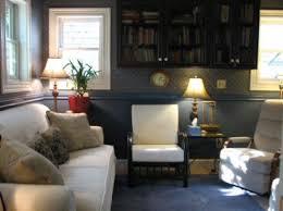 blue office decor. therapy office of deborah cohen promote your space blue decor