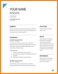 Resume Format For Freshers Free Download Latest Pdf Resume Download