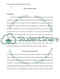 the future of cybersecurity essay example topics and well the future of cybersecurity essay example