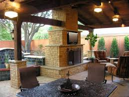 patio designs with fireplace. Outdoor Fireplace And Patio Designs With O