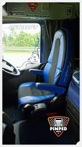 truck seat covers volvo fh4 blue eco leather seat covers 1 of 4free
