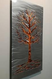 modern wall sculpture tree of life