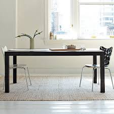 parsons expandable dining awesome websites expandable dining table