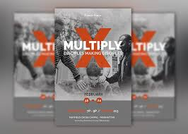 Multiply Church Flyer Poster Template By Godserv On Deviantart
