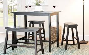 style tall pub bar kitchen square and small dinette table chairs sets black outdoor dining rooms