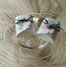 Gastgeschenk Tischkarte Hochzeit Hochzeitstag Flocke