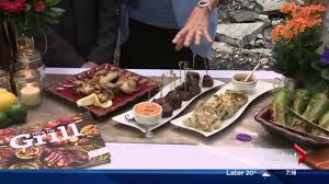Blue Flame Kitchen Edmonton Lorraine On Location Part 1 Appetizers With Atco Blue Flame