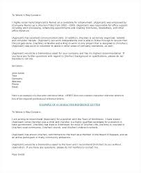 Professional Reference Letter Template Free – Onbo Tenan