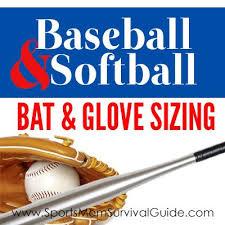 Baseball Glove Chart How To Choose The Right Size Baseball Softball Equipment