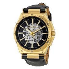 michael kors wilder skeleton dial automatic men s watch mk9031