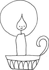 Small Picture Candle Coloring Pages Coloring Home