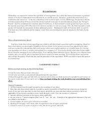 biology lab report example biology lab report  examples bio unit    lab report format jpe Allstar Construction