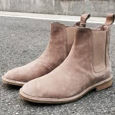 2018 chelsea boots 40 48 style men shoes chelsea boots genuines leather boots real leather men boots
