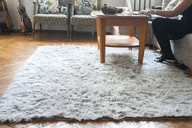 faux fur rug area ikea kmart grey sheepskin faux fur rug
