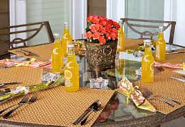 patio party round table wedge placemats sew4home place mats for in placemat inspirations 0