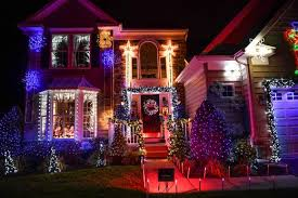 Christmas home lighting Inside Window 50000 Lights Set To Music Illuminate Lewes Home For The Holidays On Tuesday Dec Charlotte On The Cheap Lewes Home Puts On Animated Christmas Show With 50000 Lights