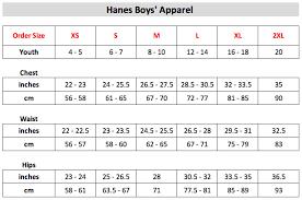 Hanes T Shirt Size Chart Facebook Lay Chart