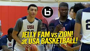 Williamson - Quinerly Fam' Jahvon Usa Vs Zion com 'jelly Ballislife Highlights Basketball