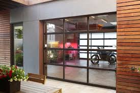 interior garage doorClopay Door Blog  Glass Garage Doors Open Up Interior Spaces