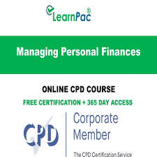 Managing Personal Finances Online Cpd Course