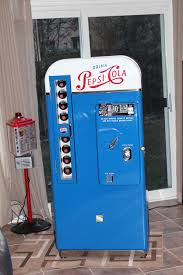 Vintage Pepsi Vending Machine Parts Magnificent George's Custom Paint And Nostalgia Station