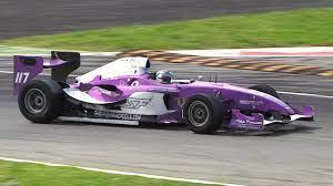 Superleague Formula Cars EPIC Sound at Monza Circuit - 4.2-litre V12 Engine  - YouTube