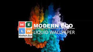 Modern Eco Liquid Wallpaper