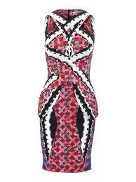 Peter Pilotto Size Chart Peter Pilotto Ln Printed Dress